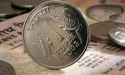 Rupee rises to two-week high against dollar