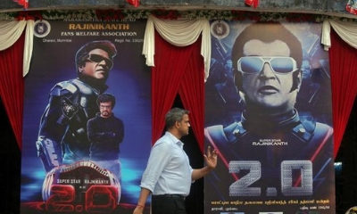 Rajinikanth's '2.0' opening weekend box office collections seen at over ₹200 crore