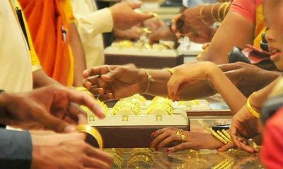 Gold gains on global cues, buying by local jewellers