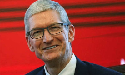 Apple's Tim Cook got big pay bump in 2018: Filing